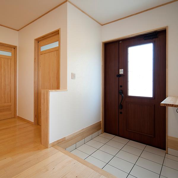 玄関から入ったスペースです。