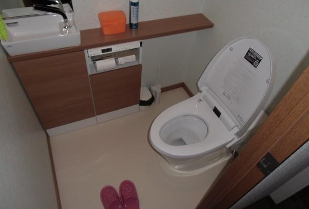 快適なトイレ