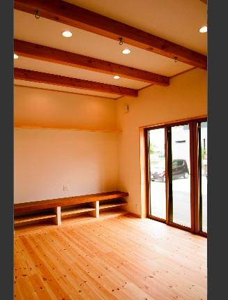 南米風の可愛い「平屋」の家