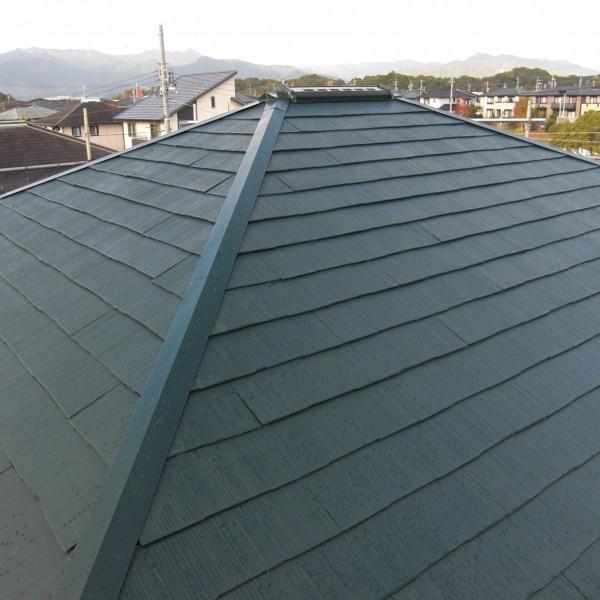 屋根も綺麗に仕上がりました。