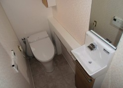 トイレ、洗面所リフォーム工事