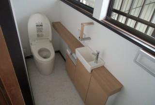 清潔で綺麗なトイレ空間にリフォーム
