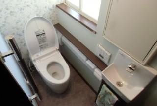 バリアフリーで安心して使えるトイレ