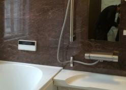 高級感あふれる浴室リフォーム