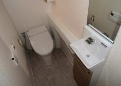 スッキリ快適なトイレ