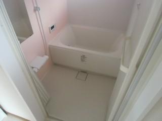 ゆったり入れる浴槽へ