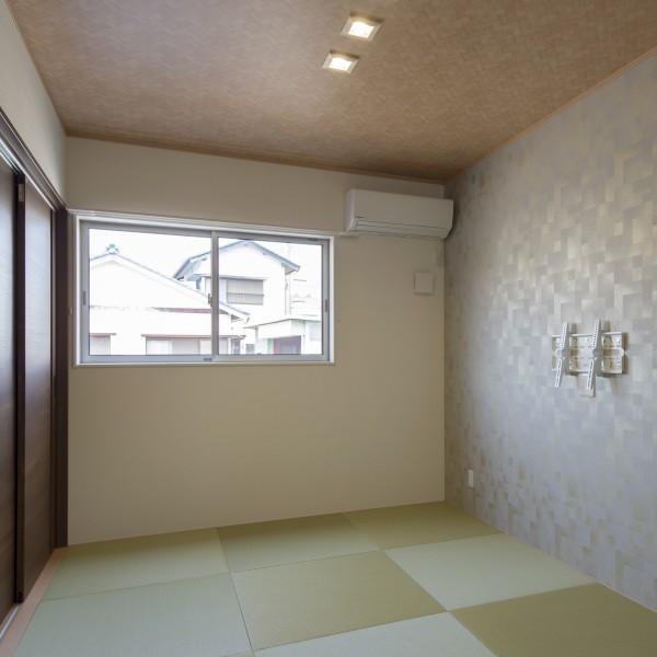 和室はLDKの雰囲気とマッチする様にしました。