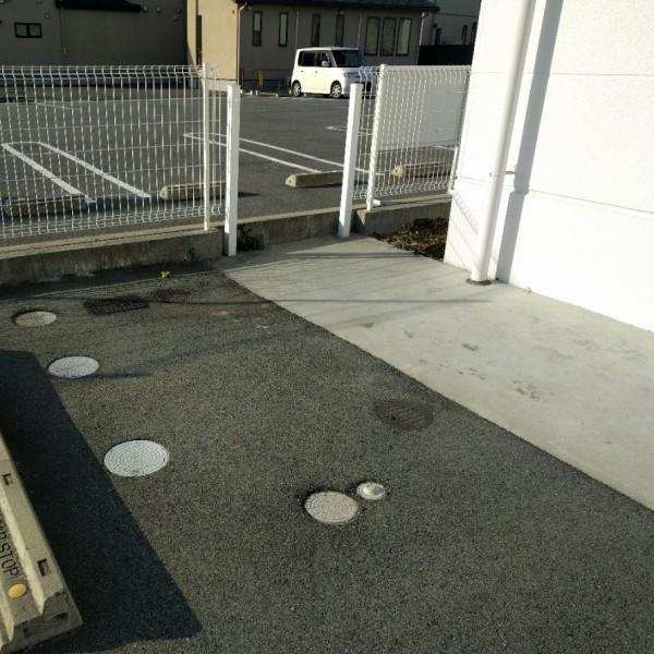 駐車場の段差で困っていました。
